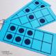 Kindergarten Number Talk: Five and Ten Frame Cards for Numbers 0-10