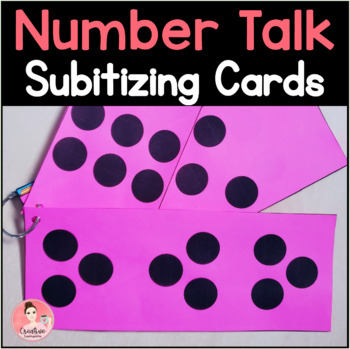 Kindergarten Number Talk: Subitizing with dot patterns, tally marks and fingers