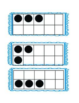 Kindergarten Number Talks Dots 0-20 (printable)