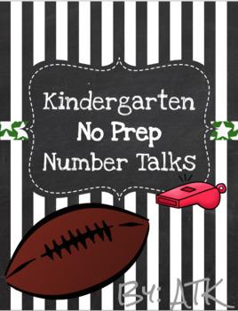 Kindergarten Number Talks