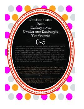 Kindergarten Number Talks Dots  0-5