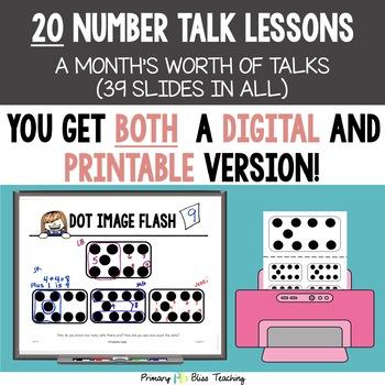Kindergarten Number Talks ~ Unit 5 (January)