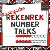 Kindergarten Number Talks: Rekenreks