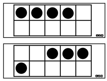 Kindergarten Number Talks: Ten Frames Number 3-6