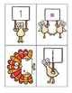 Thanksgiving Turkey Trot Kindergarten Math Game (Counting & Teen Numbers)