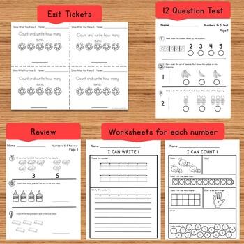 Kindergarten Numbers 0-5
