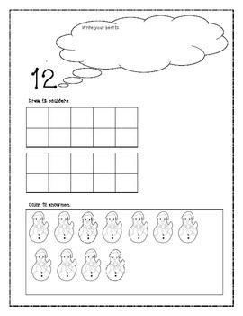 Kindergarten Numbers 11-20