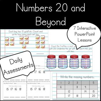 Kindergarten Numbers 20 and Beyond