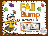 Fall Number Recognition Math Game