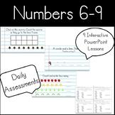 Kindergarten Numbers 6-9