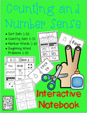 Kindergarten Numbers and Number Sense - Interactive Notebo