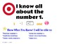 Kindergarten Numbers to 10 Learning Targets with Success Criteria