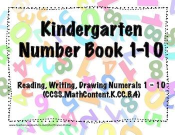 Kindergarten Numer Book 1-10