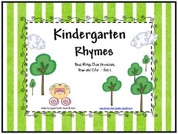 Kindergarten Nursery Rhymes - Set 2