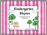 Kindergarten Nursery Rhymes