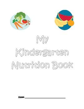 Kindergarten Nutrition Book
