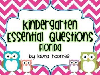 Kindergarten OWL Essential Questions Florida