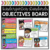 Kindergarten Objectives Board
