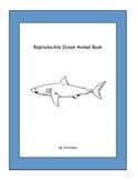 Kindergarten Ocean Animals Reproducible Book