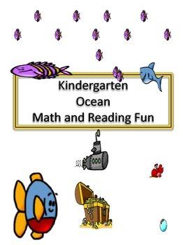 Kindergarten Ocean Math and Writing