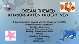 Kindergarten Ocean Themed Standards