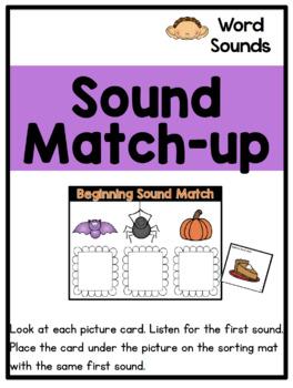 Kindergarten October Literacy Centers