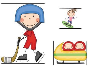Kindergarten Olympics Resources - Math & L.A.