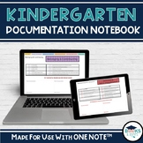 Kindergarten Four Frames OneNote Documentation Notebook