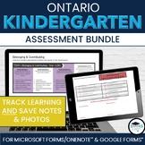 BUNDLE: Kindergarten Four Frames OneNote Documentation & M