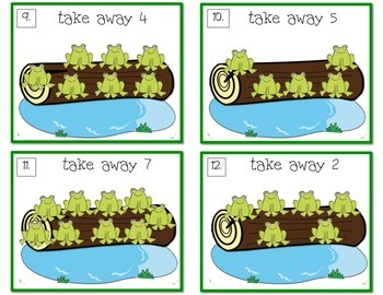 Kindergarten Operations & Algebraic Thinking Centers (common core)