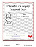 Kindergarten Oral Language Development Activities