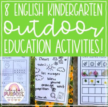 Kindergarten Outdoor Education Activities!