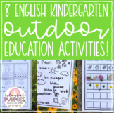 Kindergarten Outdoor Education Activities!