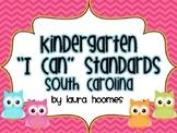 Kindergarten Owl Standards SOUTH CAROLINA