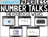 Kindergarten PAPERLESS NUMBER TALKS- The Fourth 10 Weeks