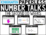 Kindergarten PAPERLESS NUMBER TALKS- The Second 10 Weeks