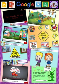 Kindergarten PDHPE Play It Safe - Safe Living Smart Notebooks and Unit of Work