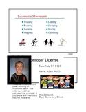 Kindergarten PE Locomotor License