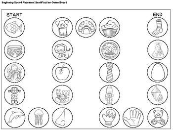 Kindergarten/PK Centers & Small Group Activities: Beginning Sounds