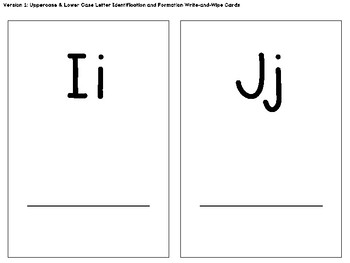 Kindergarten/PK Centers & Small Group Activities: Letter ID, Sound ID, Writing