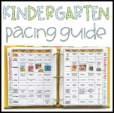 Kindergarten Pacing Guide