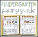 Kindergarten Pacing Guide