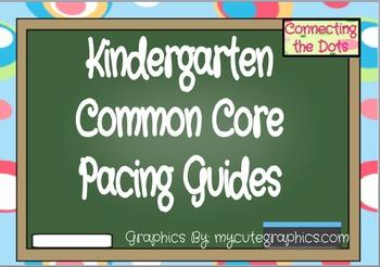 Common Core Planning Guide (Kindergarten)