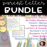 Parent Letters ~ Bundle
