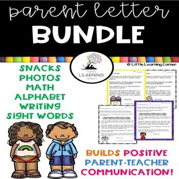 Parent Letters ~ Bundle