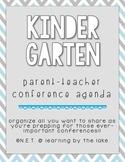 Kindergarten Parent-Teacher Conference Agenda