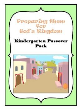 Kindergarten Passover Pack Color