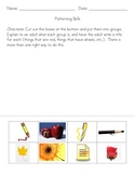 Kindergarten Patterning Skills Worksheets