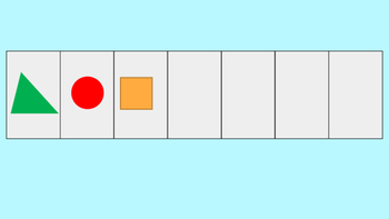 Kindergarten Patterns Computer Activity