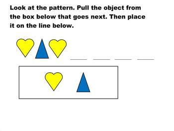 Kindergarten Patterns Smartboard